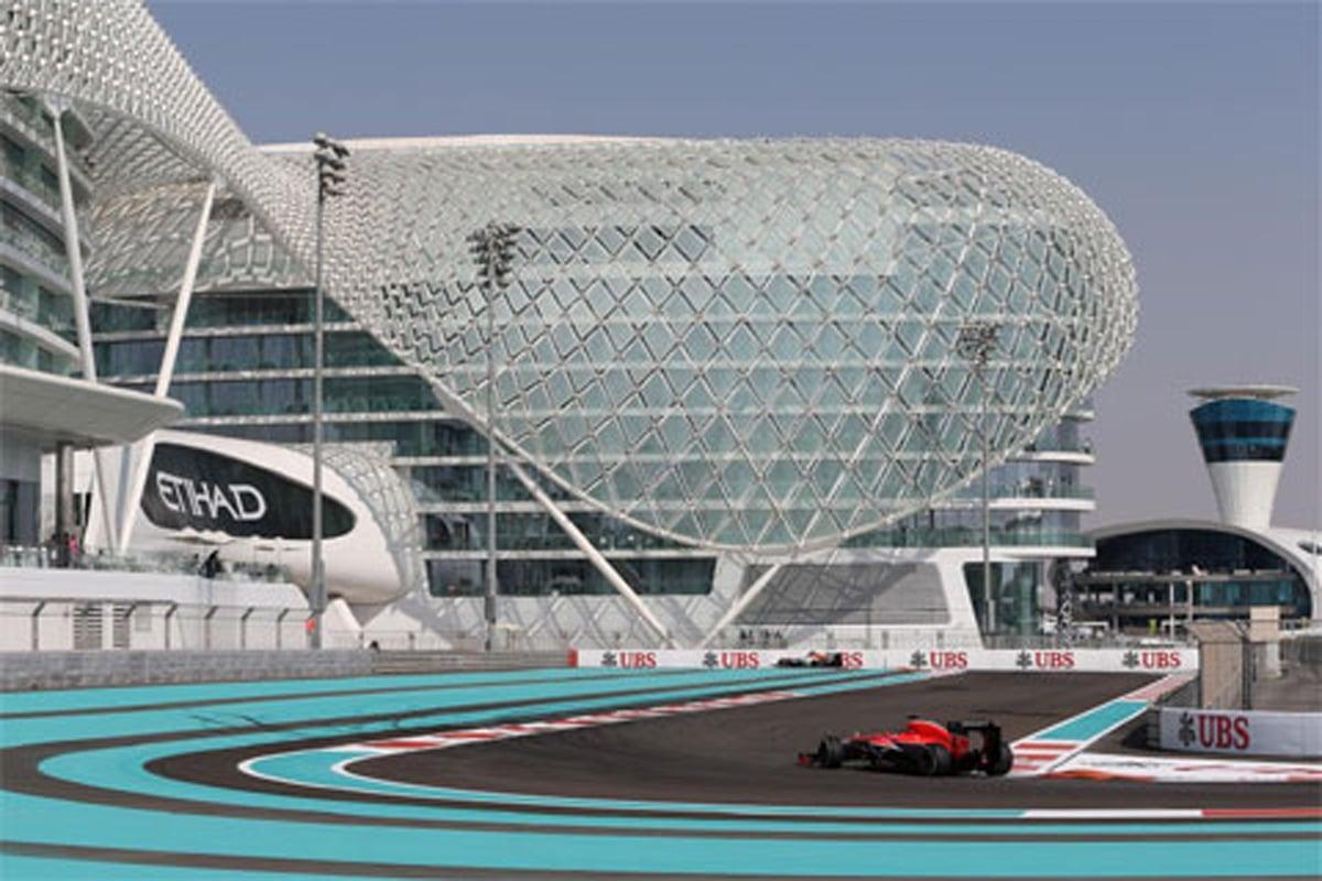マルシャ:F1アブダビGP 初日のコメント