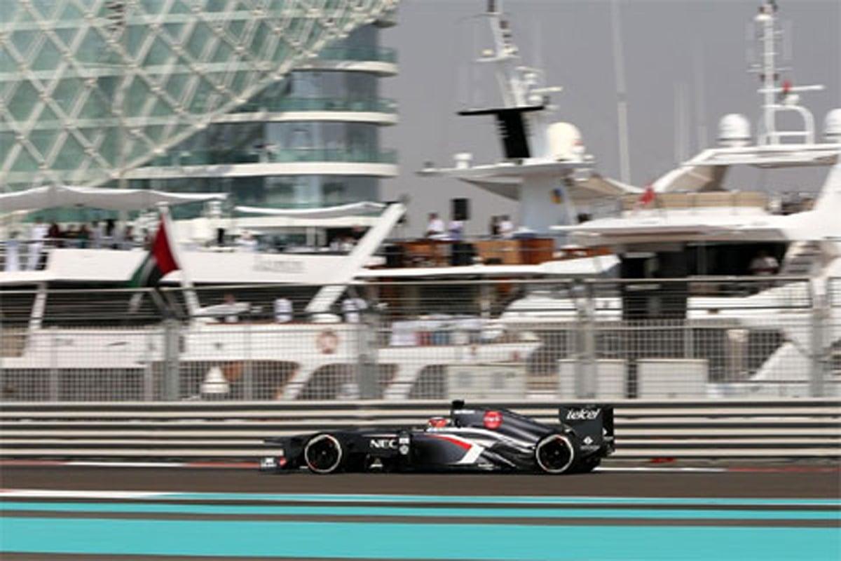 ザウバー:F1アブダビGP 初日のコメント
