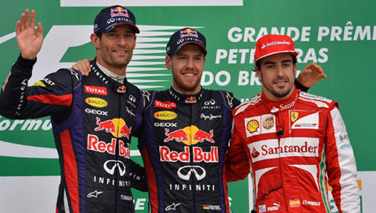 F1 ブラジルGP 決勝