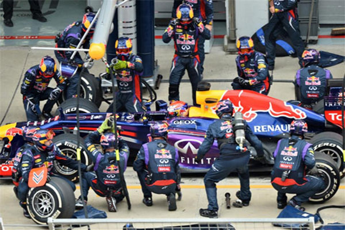 F1 ピットストップ