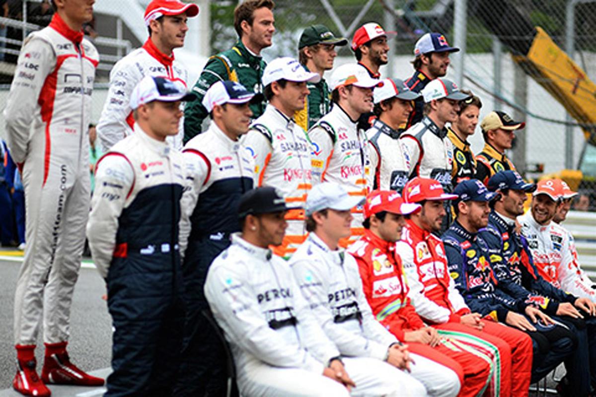 F1 重量制限
