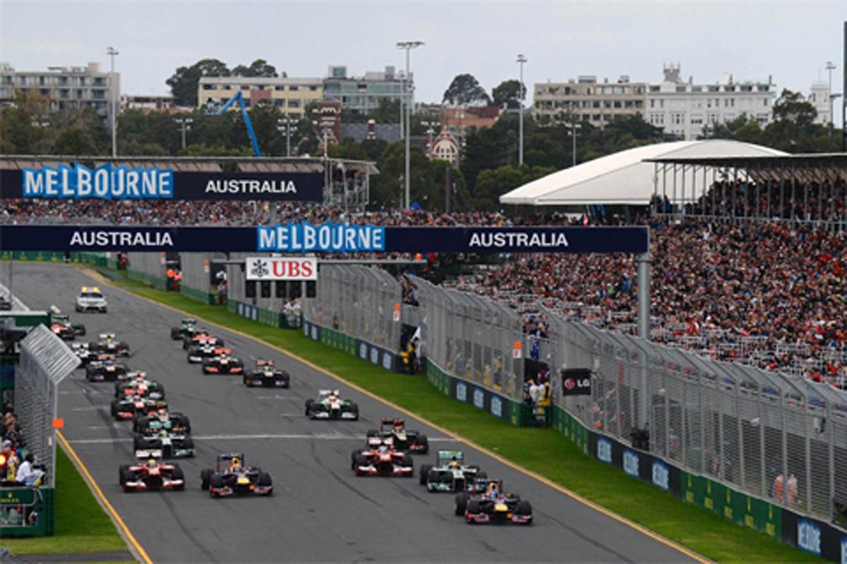 2014年 F1ドライバー 固定ナンバー