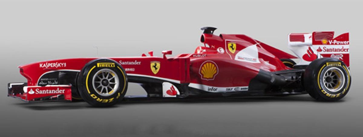 フェラーリ F138 (サイド)