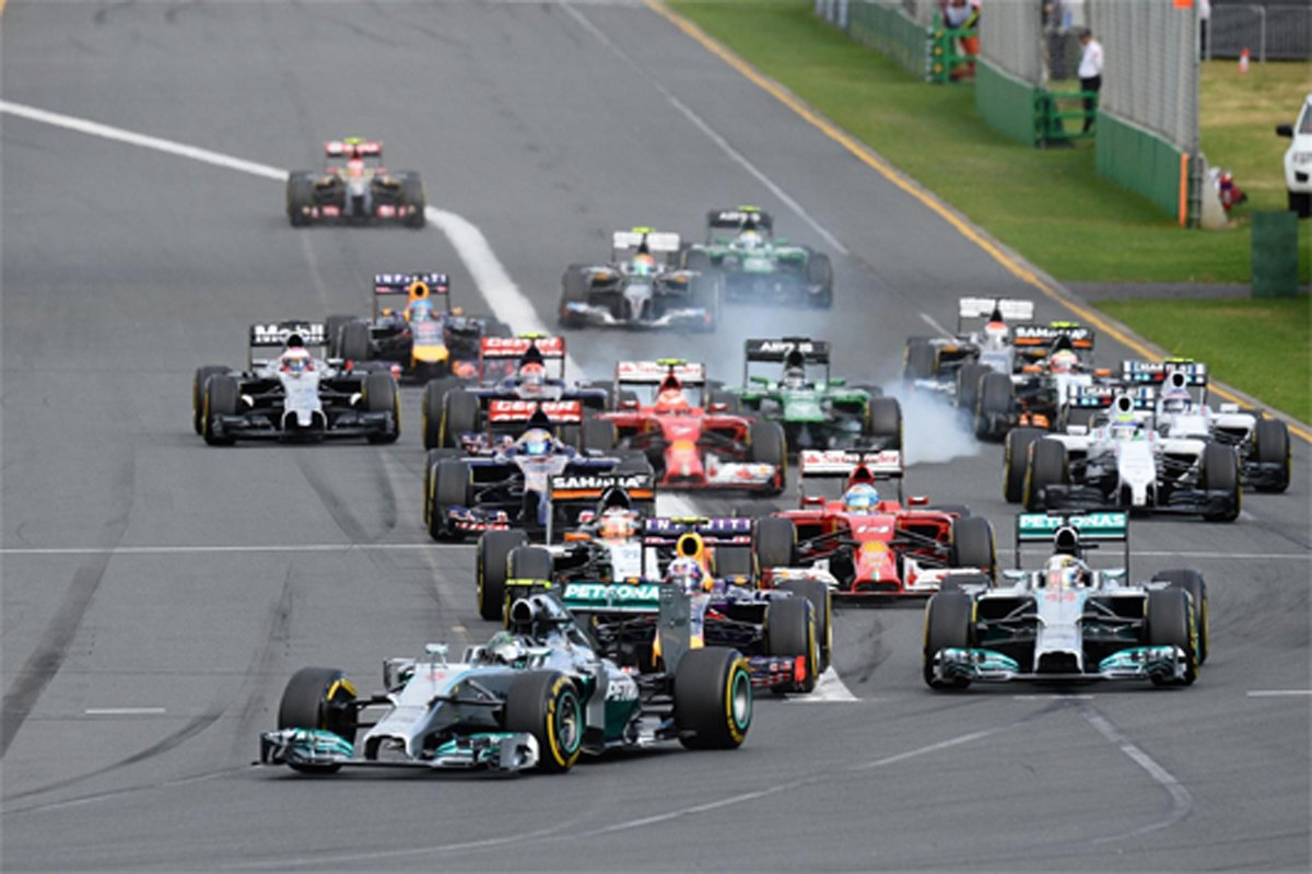 F1オーストラリアGP 結果