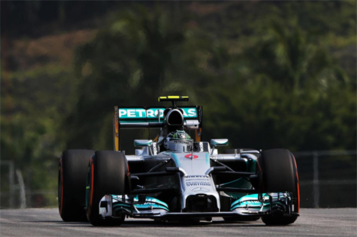 F1マレーシアGP フリー走行2回目