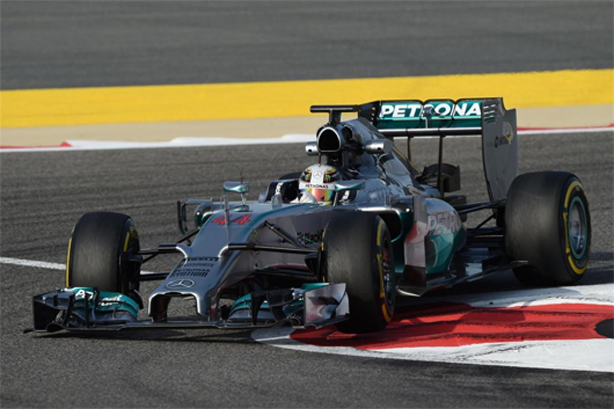 F1 バーレーンテスト