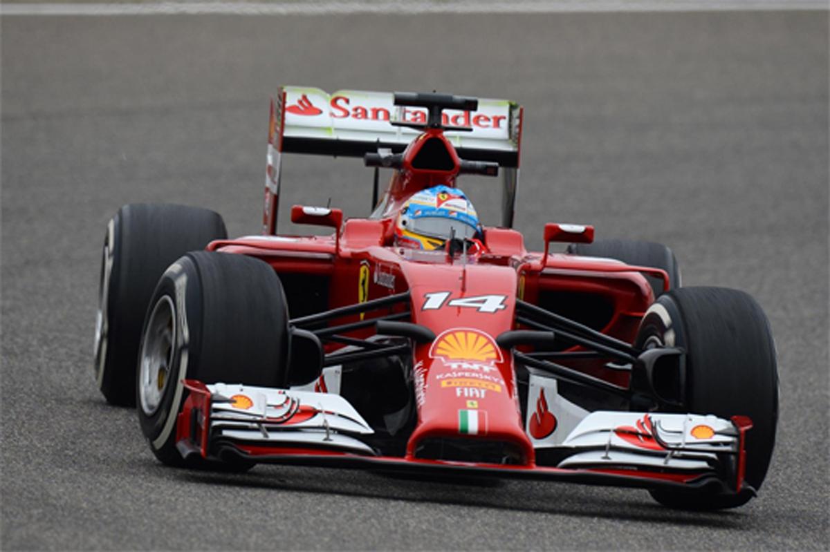 F1中国GP フリー走行1回目