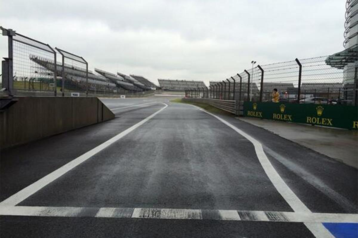 F1中国GP フリー走行3回目