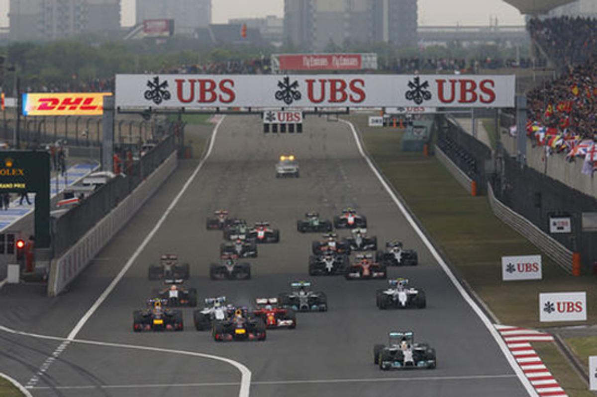 F1中国GP 結果