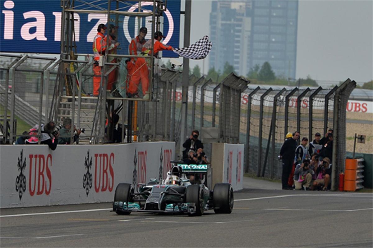 F1中国GP 最終結果