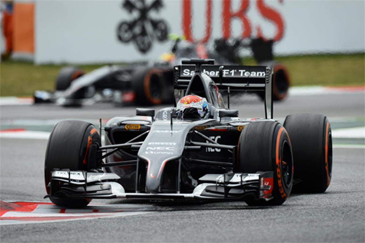 ザウバー F1スペインGP