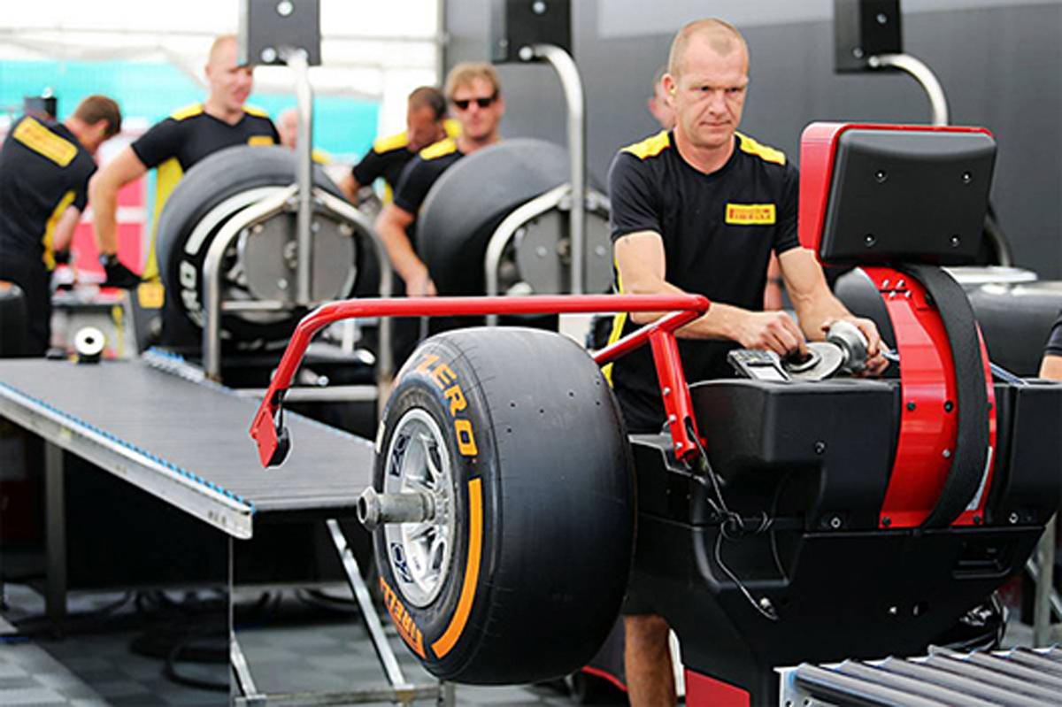 ピレリ 18インチ F1タイヤ