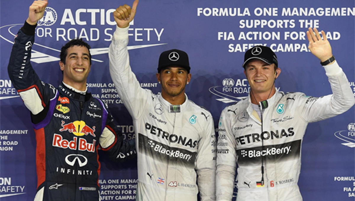 F1 シンガポールGP 予選