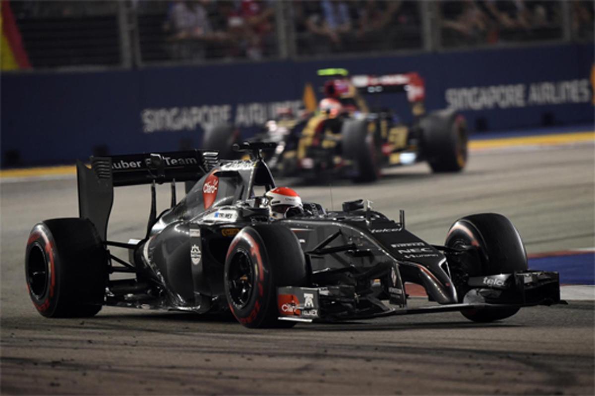 ザウバー F1シンガポールGP 結果