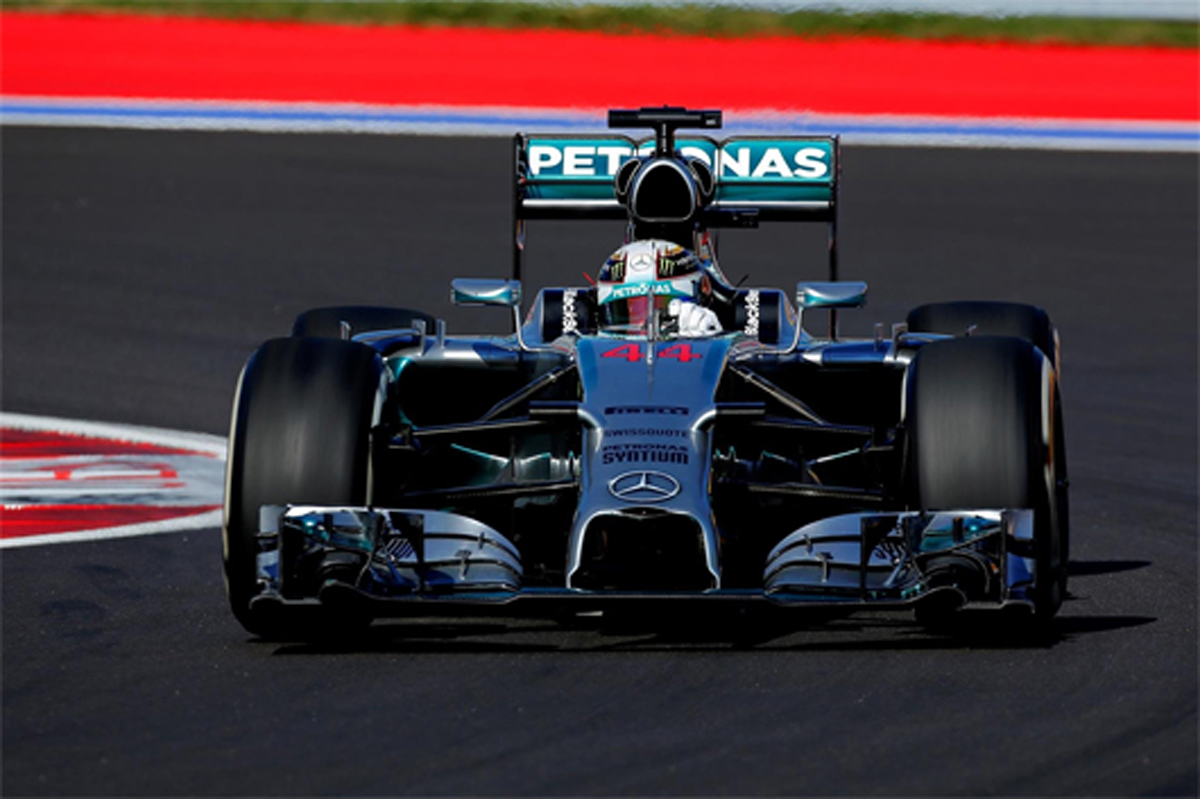 F1ロシアGP 予選結果