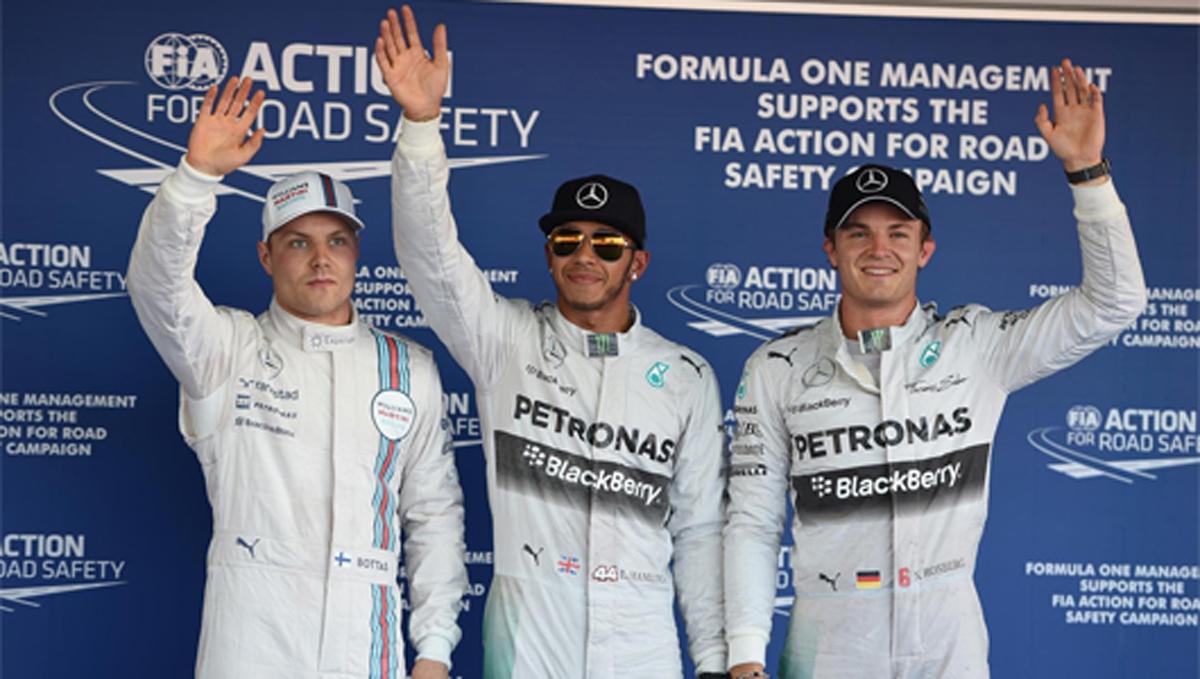 F1 ロシアGP 予選