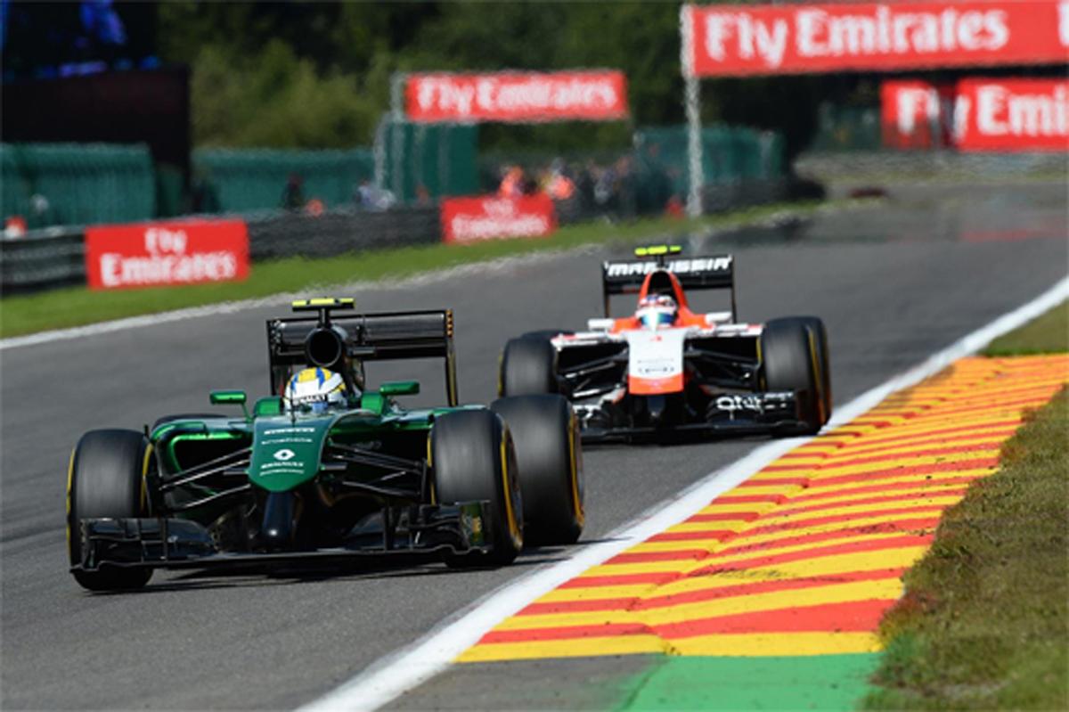 2015年 F1 エントリーリスト