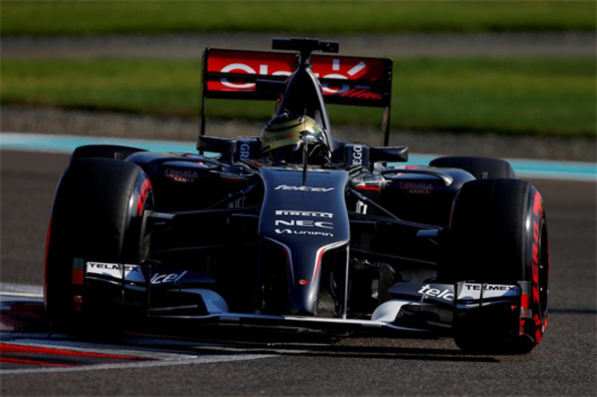 ザウバー F1アブダビGP 予選