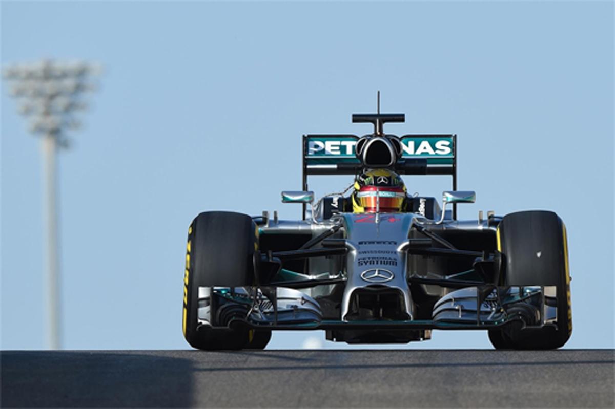 2014 F1 アブダビテスト