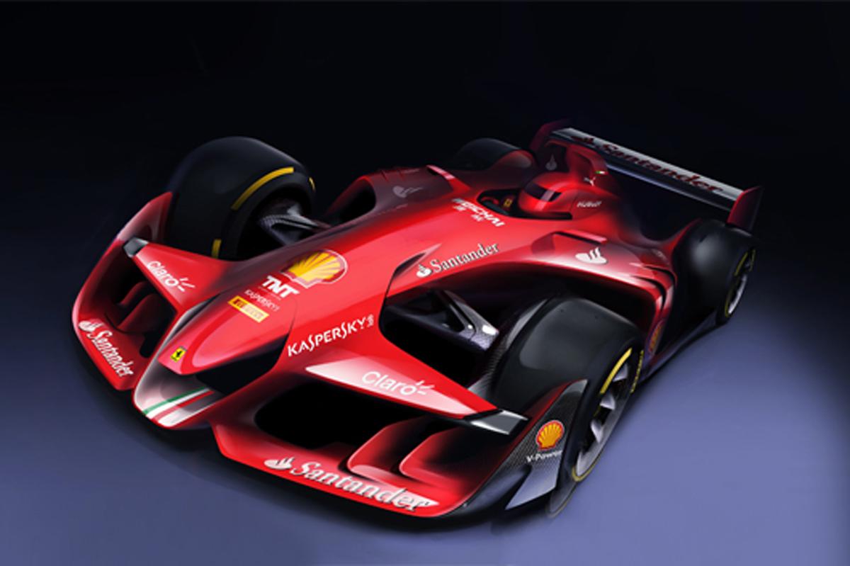 フェラーリ F1コンセプトカー