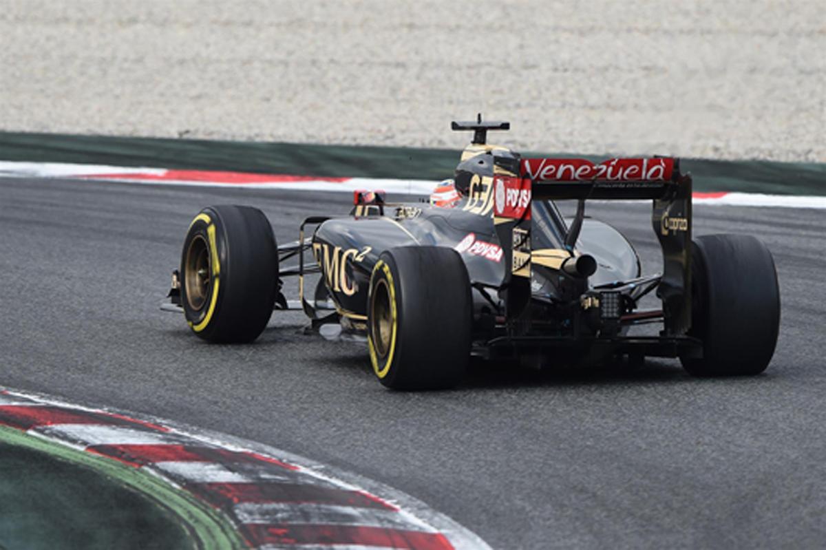 2015年 F1バルセロナテスト 1回目