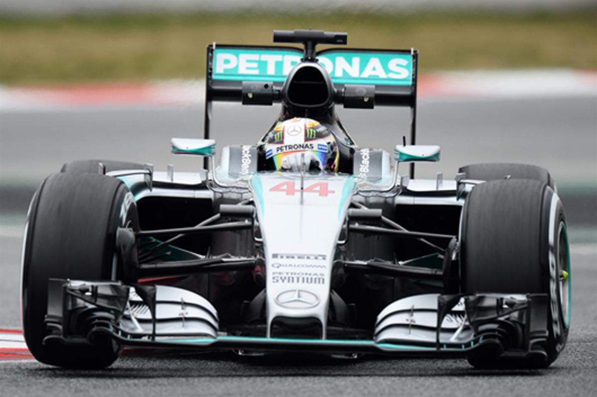 F1バルセロナテスト初日