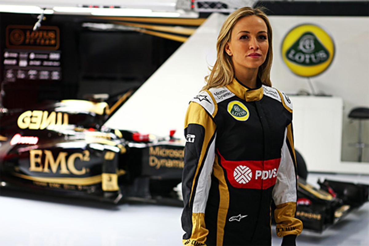 ロータス、女性ドライバーのカルメン・ホルダと開発ドライバー契約