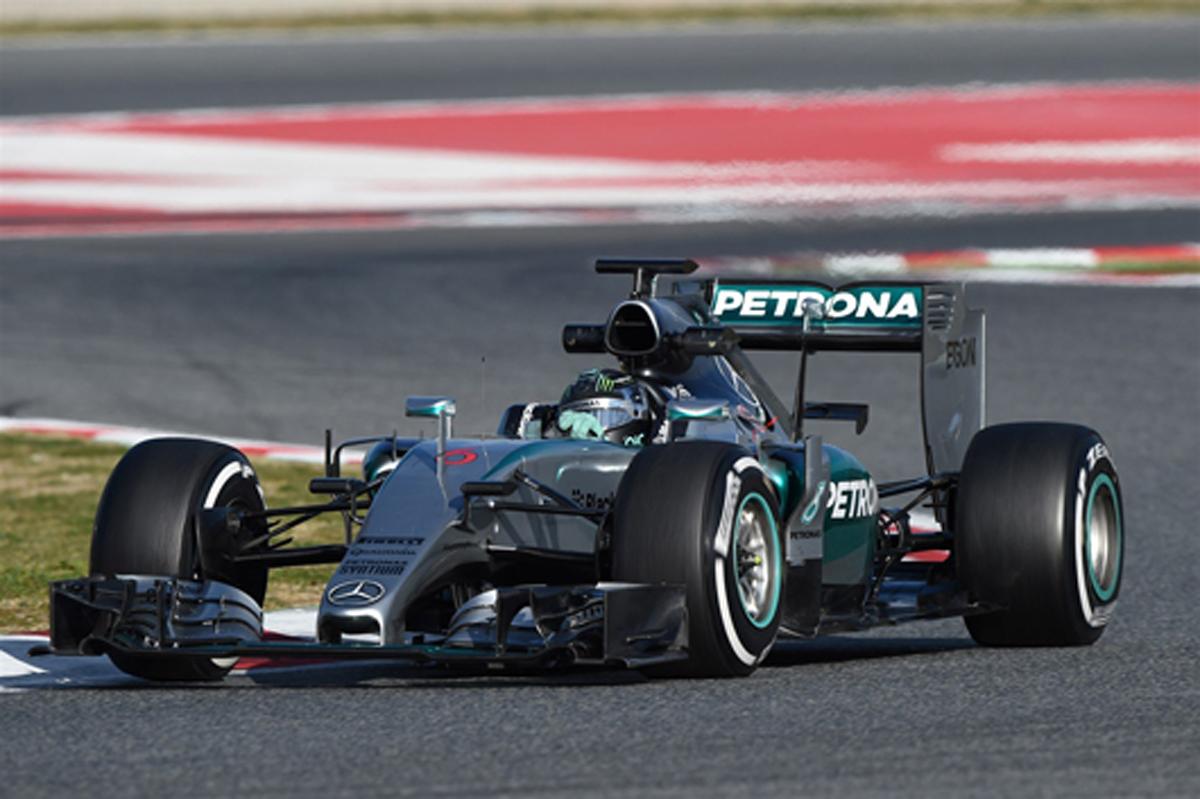F1バルセロナテスト 2日目