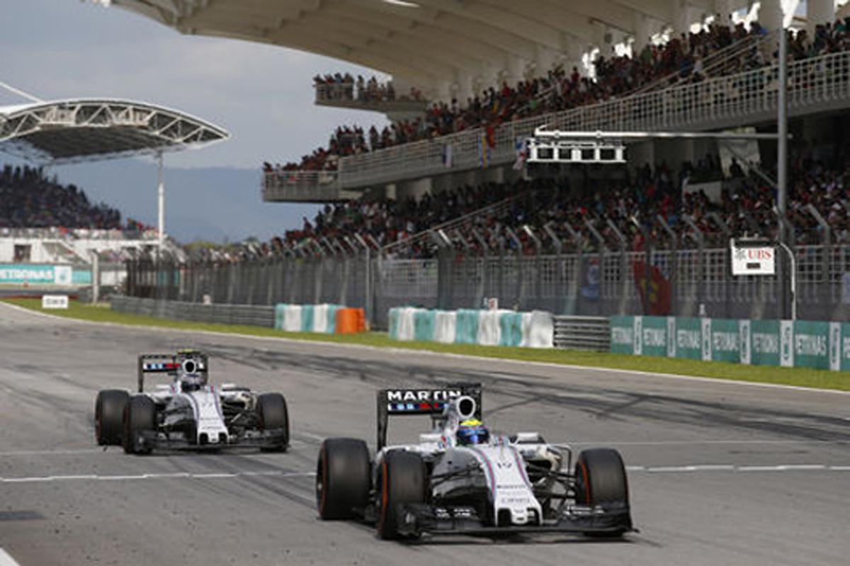 ウィリアムズ F1マレーシアGP 結果