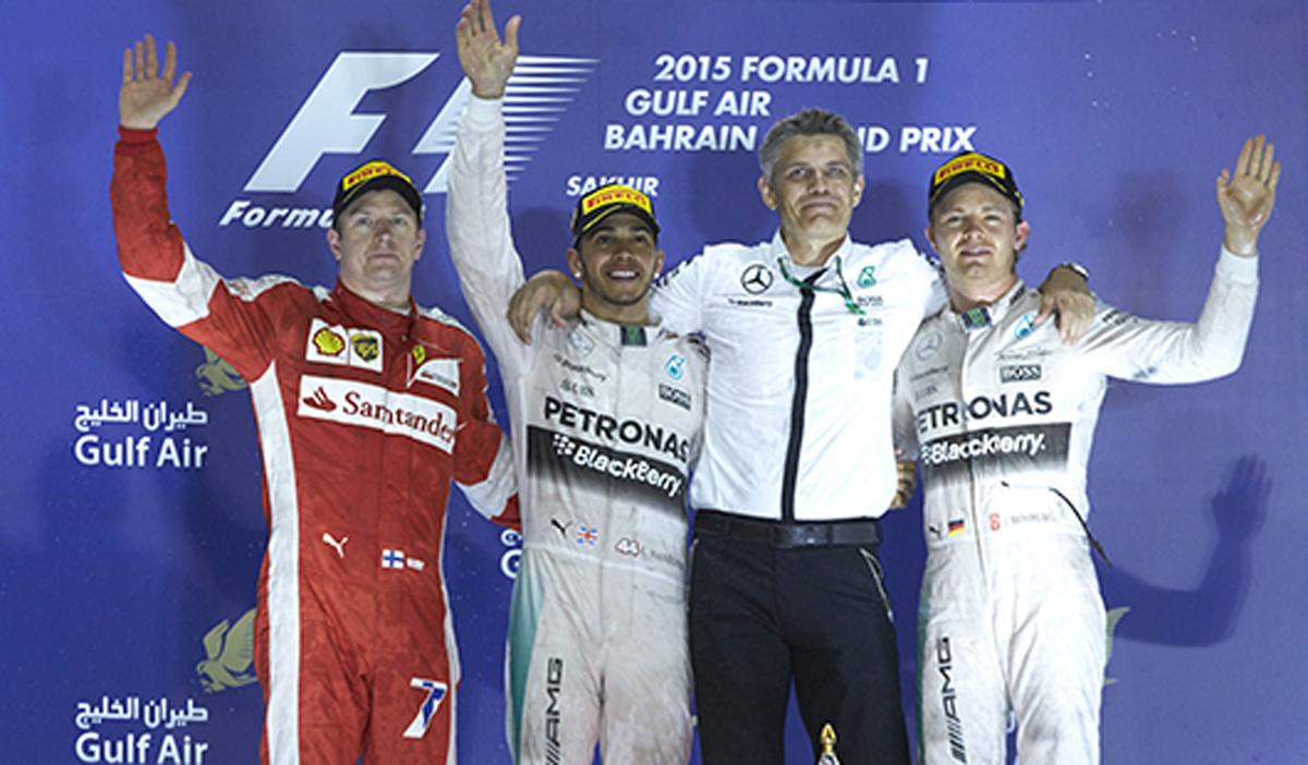 F1 バーレーンGP 決勝