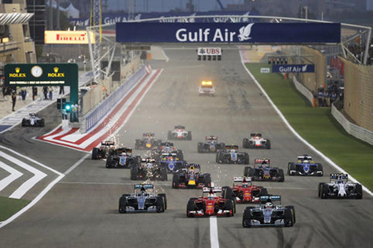 F1バーレーンGP 結果