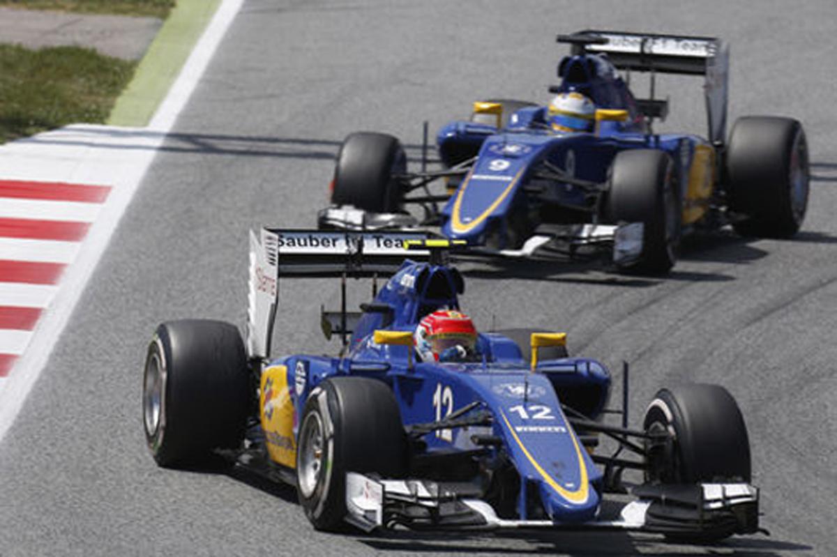 ザウバー F1スペインGP 結果
