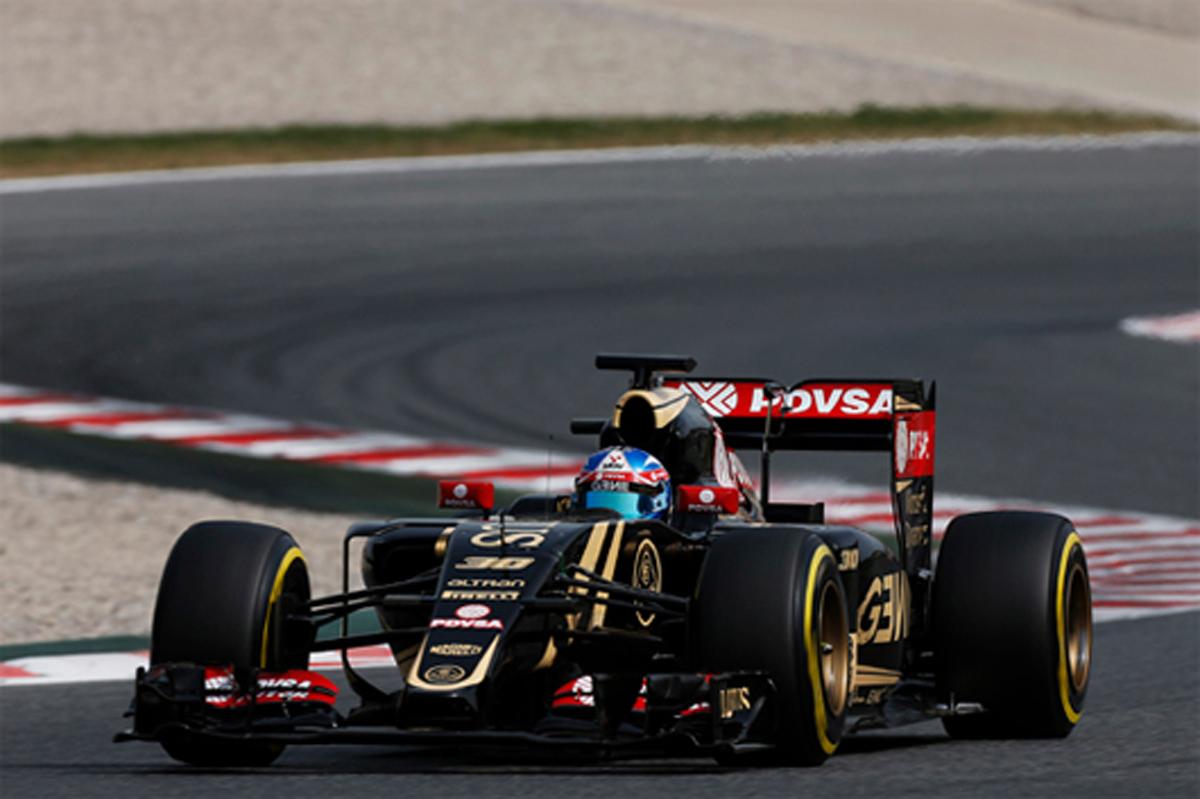 F1 バルセロナ インシーズンテスト 2日目