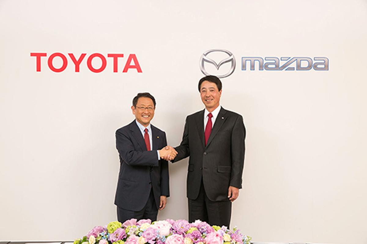 トヨタとマツダ、業務提携に向け基本合意