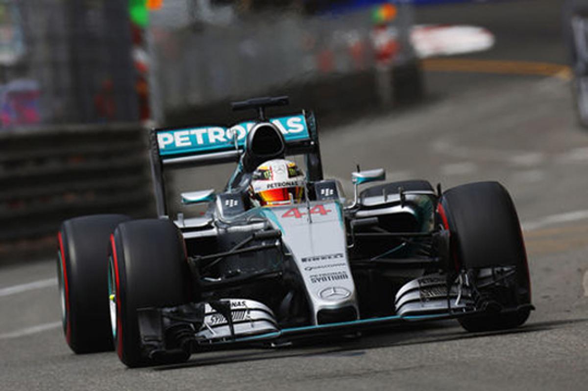 F1モナコGP 予選 結果