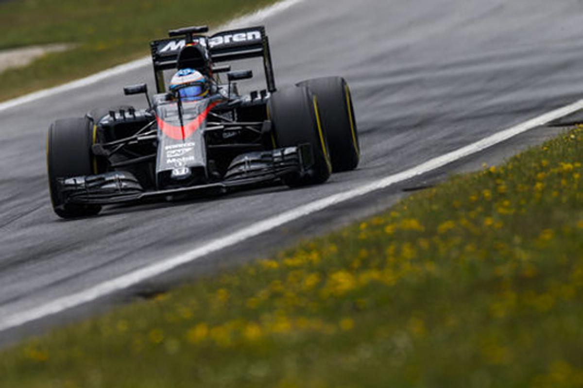 F1オーストリアGP フリー走行3回目