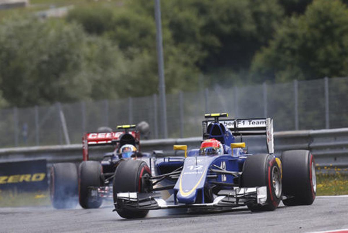 ザウバー F1オーストリアGP 結果