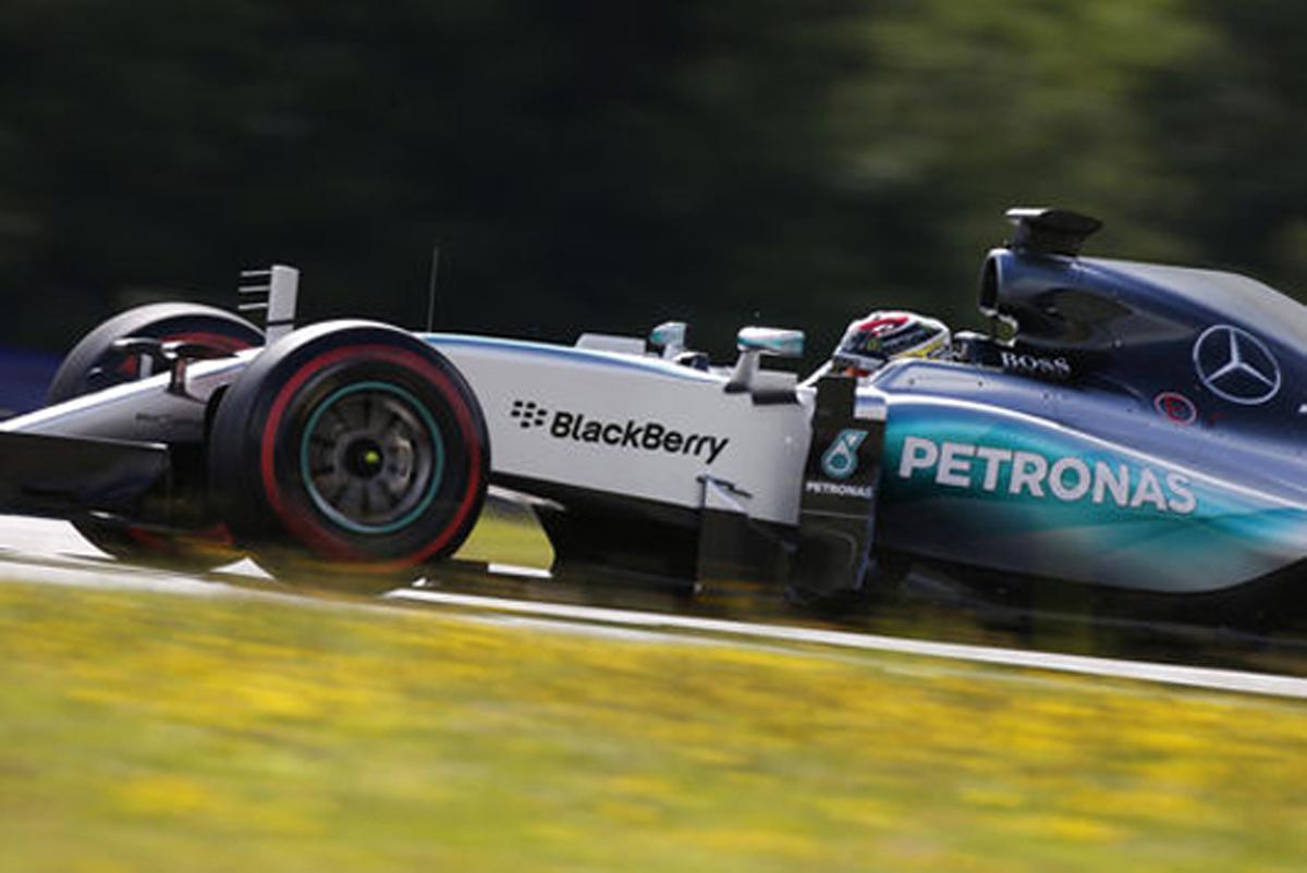 F1オーストリアテスト 初日