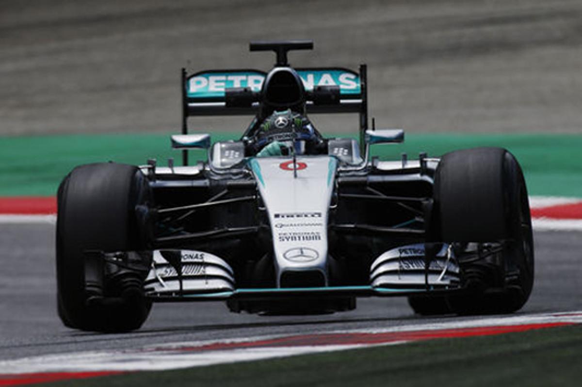 F1オーストリアテスト 2日目