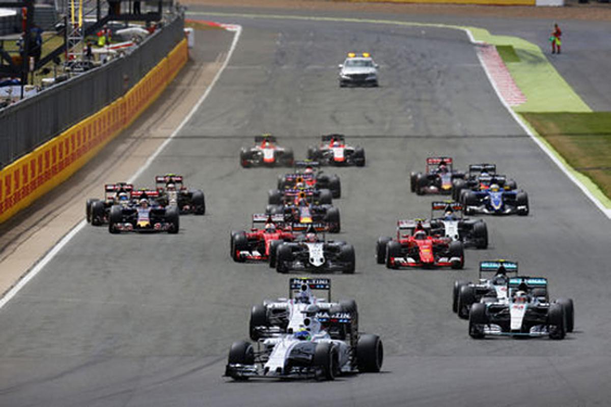 F1イギリスGP 結果