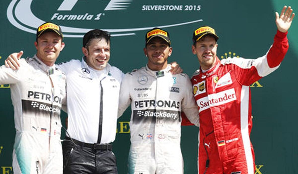 F1 イギリスGP 決勝