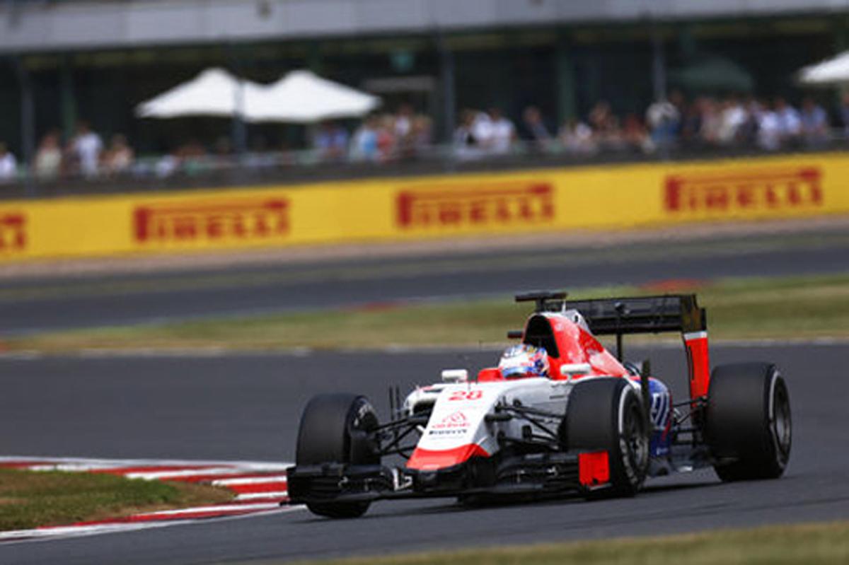 マノー・マルシャ F1イギリスGP 結果