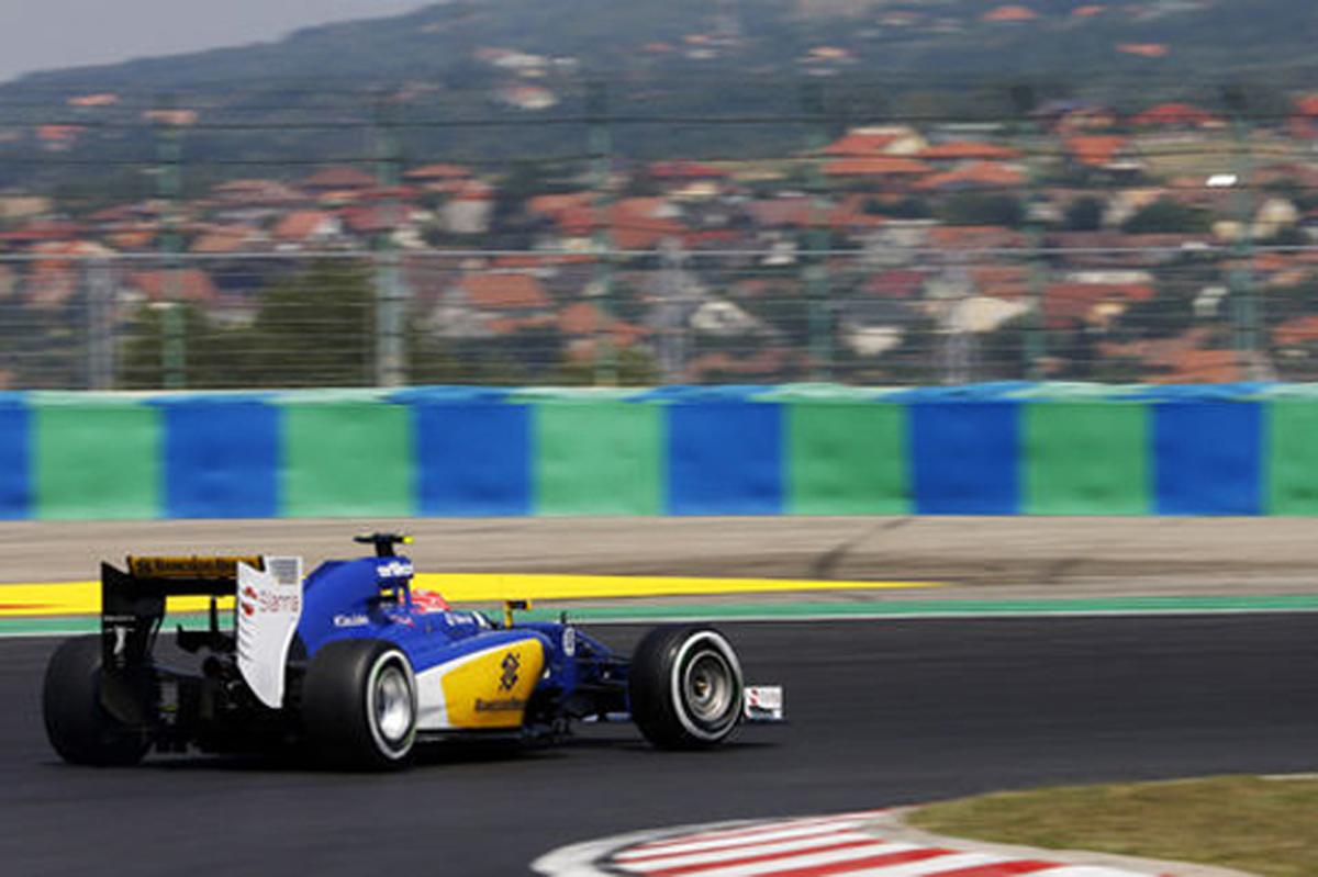 ザウバー F1ハンガリーGP 予選