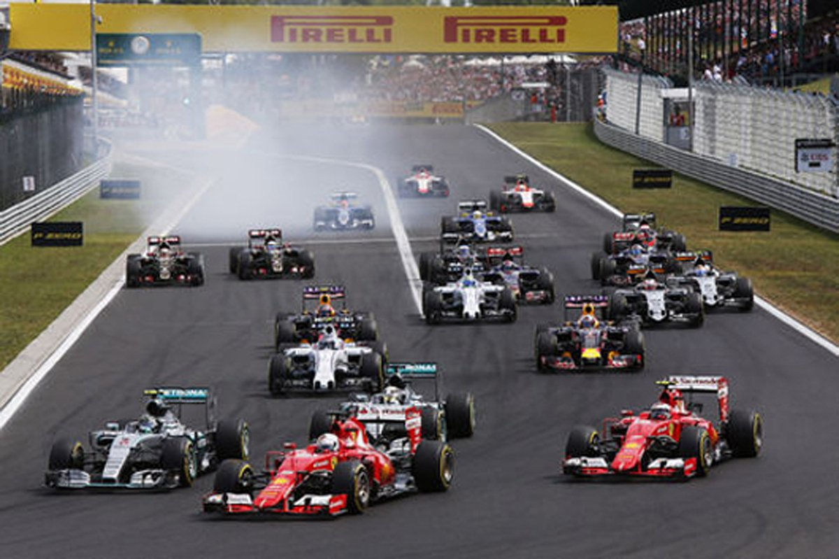 F1ハンガリーGP 結果