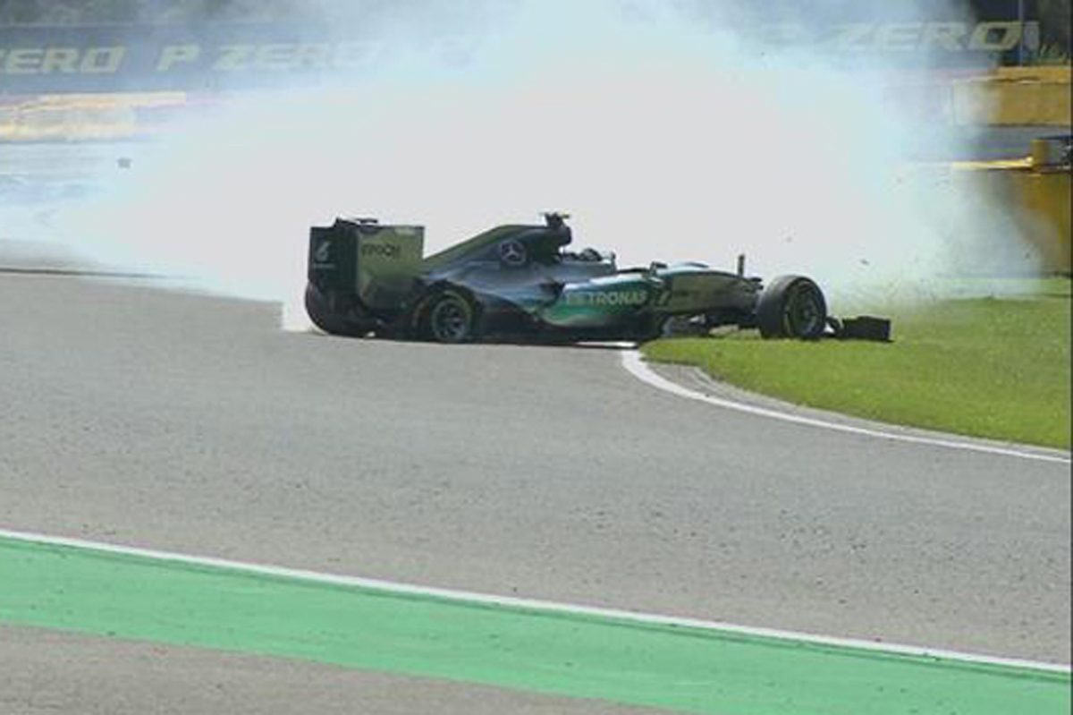 F1ベルギーGP フリー走行2回目 速報