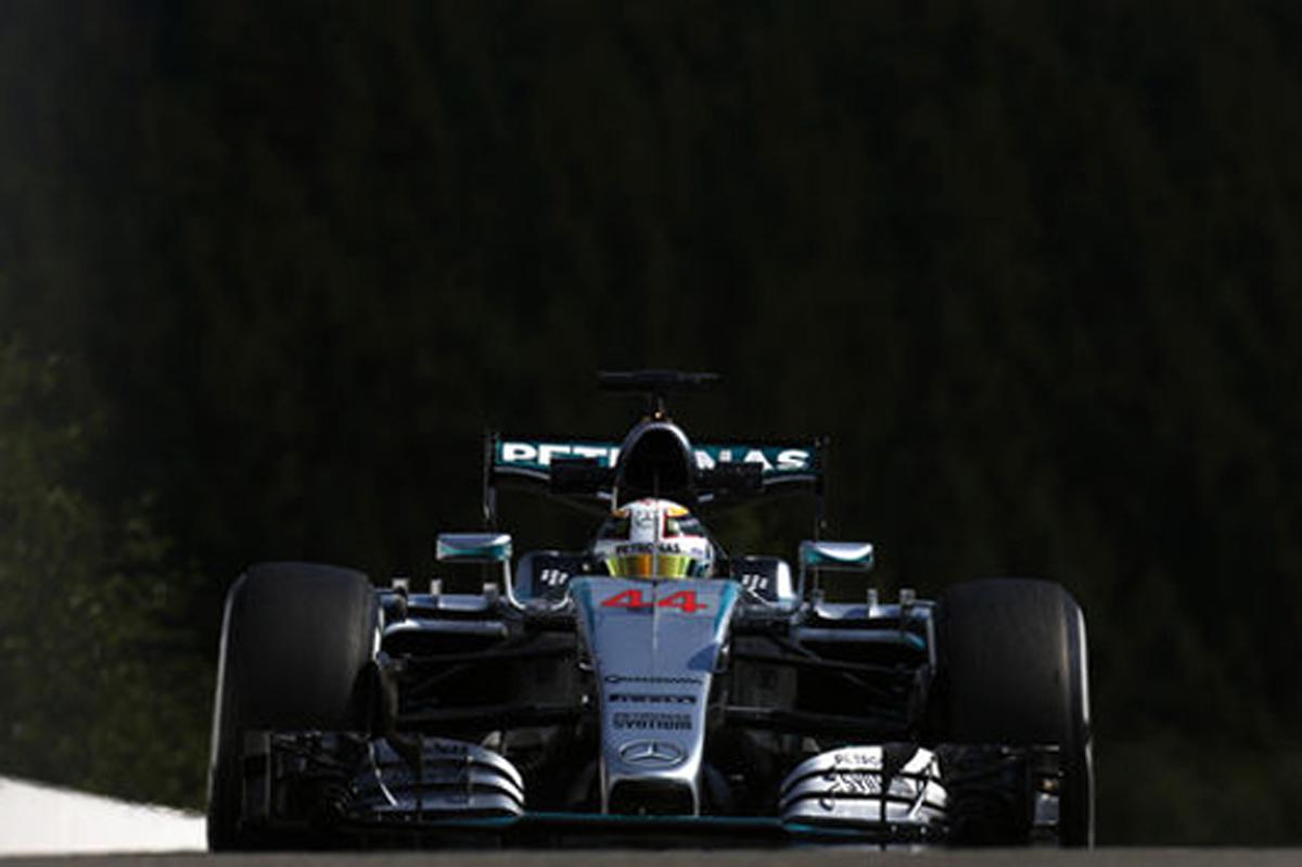 F1ベルギーGP フリー走行3回目 速報