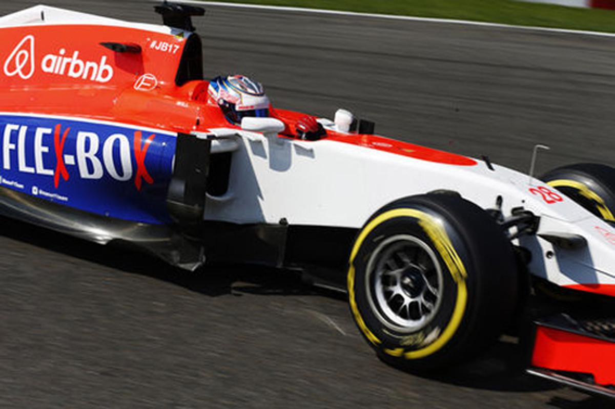 マノー・マルシャ F1ベルギーGP 予選