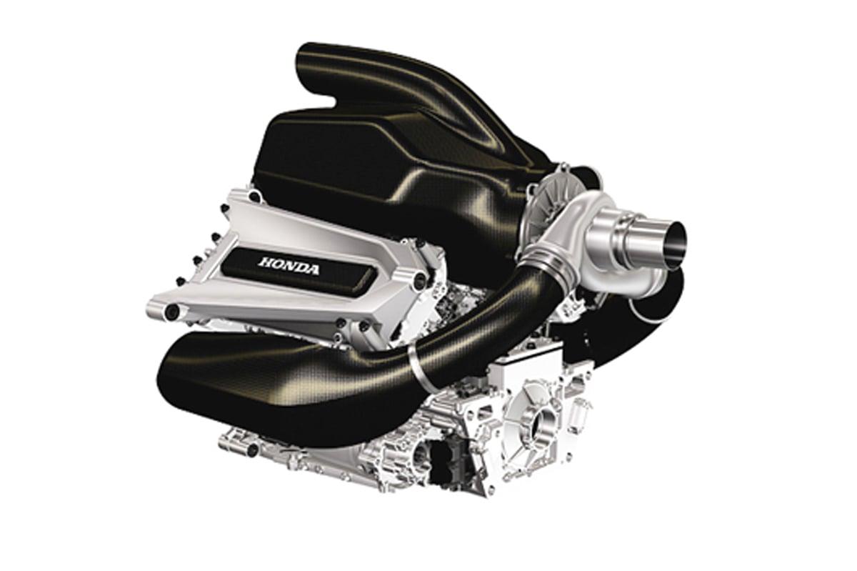 F1 パワーユニット