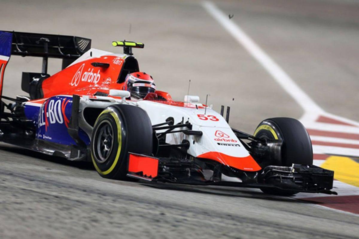 マノー・マルシャ F1シンガポールGP
