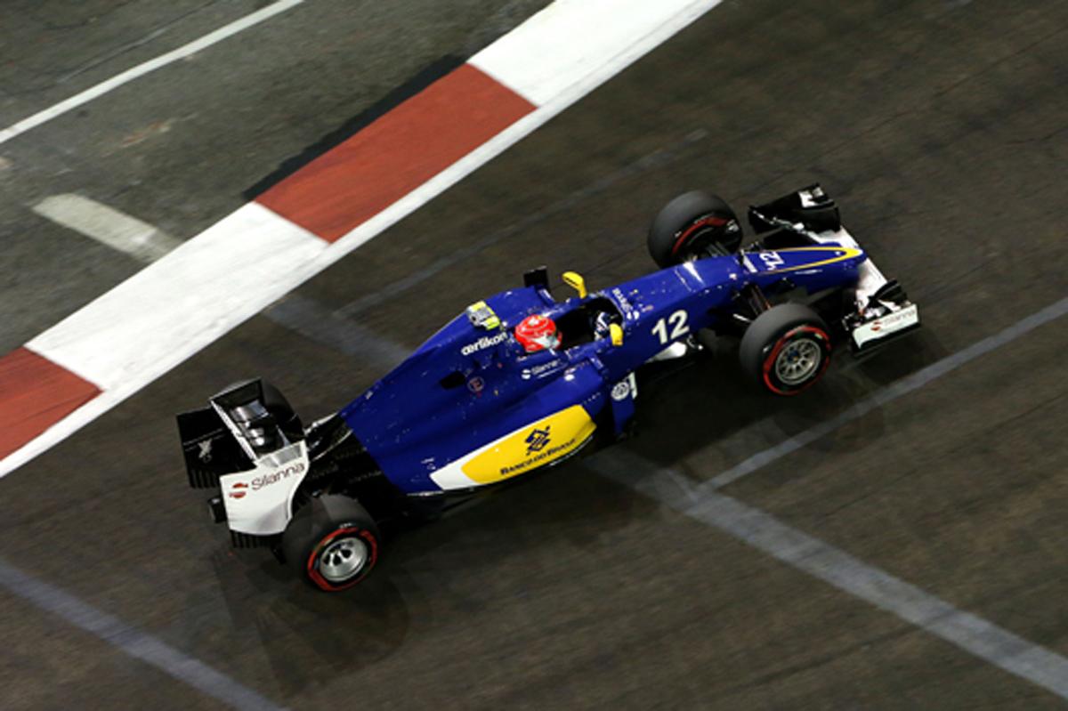 ザウバー F1シンガポールGP